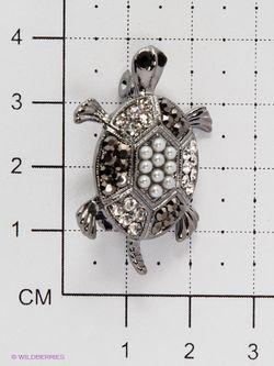 Броши Royal Diamond                                                                                                              серебристый цвет