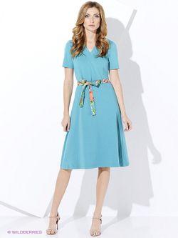 Платья Виреле                                                                                                              Бирюзовый цвет