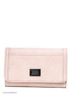 Кошельки s.Oliver                                                                                                              розовый цвет