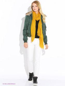 Куртки Oodji                                                                                                              зелёный цвет