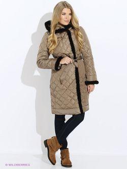 Куртки Baon                                                                                                              коричневый цвет
