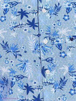 Рубашки Men of all nations                                                                                                              голубой цвет