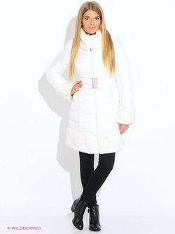 Пальто Oodji                                                                                                              белый цвет