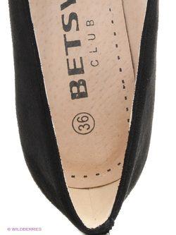 Туфли Betsy                                                                                                              чёрный цвет