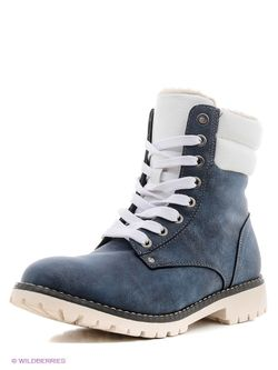 Ботинки Keddo                                                                                                              синий цвет