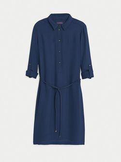 Платья Violeta by Mango                                                                                                              синий цвет