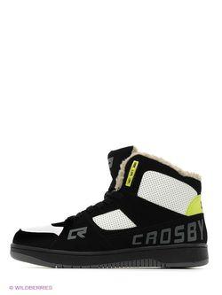 Кеды Crosby                                                                                                              черный цвет
