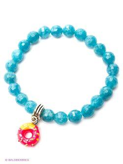 Браслеты Polina Selezneva                                                                                                              голубой цвет