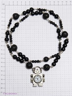 Часы Polina Selezneva                                                                                                              чёрный цвет