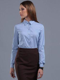 Блузки ЭНСО                                                                                                              голубой цвет