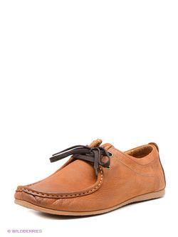 Мокасины iD! Collection                                                                                                              коричневый цвет