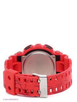 Часы Casio                                                                                                              красный цвет