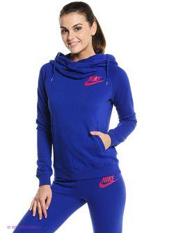 Свитшоты Nike                                                                                                              синий цвет