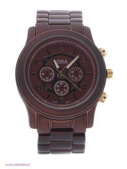 Часы Bora                                                                                                              коричневый цвет