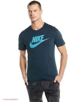 Футболка Nike                                                                                                              Морская Волна цвет
