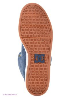 Кеды Dc Shoes Dcshoes                                                                                                              синий цвет