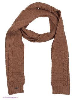 Шарфы Finn Flare                                                                                                              коричневый цвет