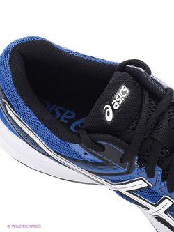 Кроссовки Asics                                                                                                              синий цвет