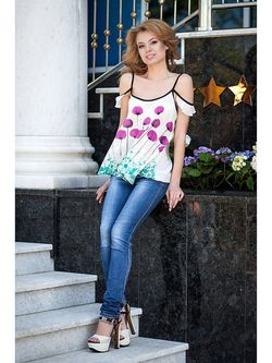 Блузки Vision Fashion Srore                                                                                                              фиолетовый цвет
