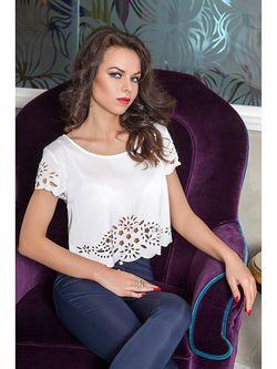 Блузки Vision Fashion Srore                                                                                                              белый цвет