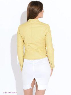 Куртки Oodji                                                                                                              желтый цвет