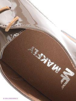 Ботинки Makfly                                                                                                              коричневый цвет