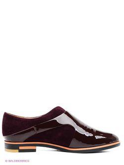 Туфли Makfly                                                                                                              красный цвет