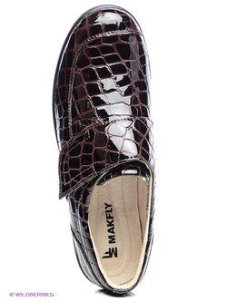 Туфли Makfly                                                                                                              коричневый цвет