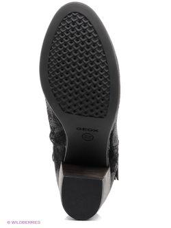 Полусапожки Geox                                                                                                              черный цвет