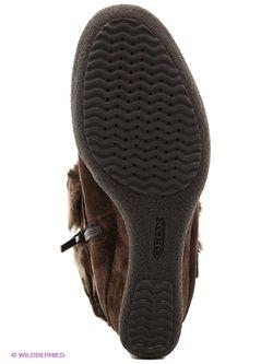 Полусапожки Geox                                                                                                              коричневый цвет