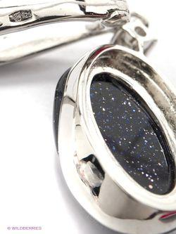 Ювелирные Серьги Silver Wings                                                                                                              черный цвет