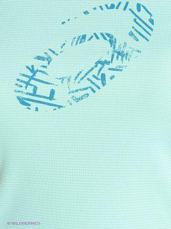Футболка Asics                                                                                                              Бирюзовый цвет
