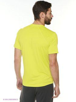Футболка Asics                                                                                                              желтый цвет