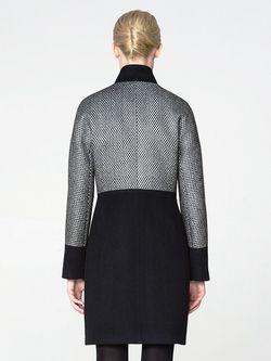 Пальто Pompa                                                                                                              чёрный цвет