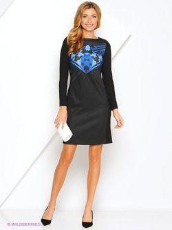 Платья Pompa                                                                                                              синий цвет