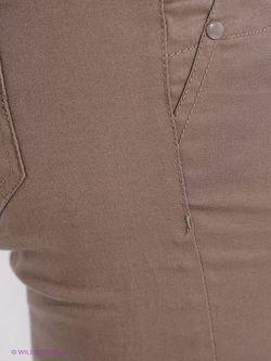 Брюки Oodji                                                                                                              коричневый цвет