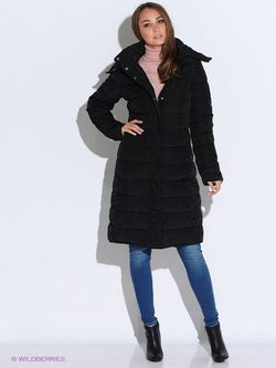 Пальто Oodji                                                                                                              черный цвет