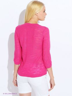 Пуловеры Oodji                                                                                                              Фуксия цвет