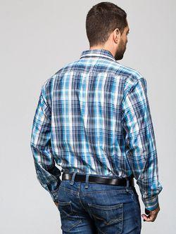 Рубашки JOHN JENIFORD                                                                                                              синий цвет