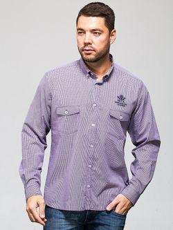Рубашки JOHN JENIFORD                                                                                                              фиолетовый цвет