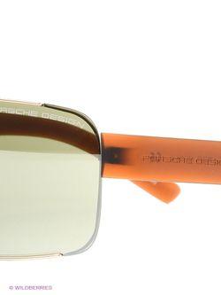 Солнцезащитные Очки Porsche Design                                                                                                              оранжевый цвет