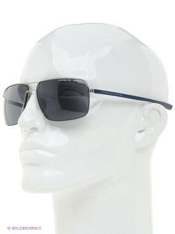 Солнцезащитные Очки Porsche Design                                                                                                              серебристый цвет