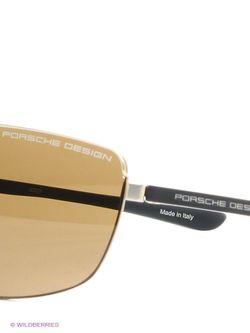 Солнцезащитные Очки Porsche Design                                                                                                              Золотистый цвет