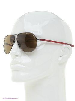 Солнцезащитные Очки Porsche Design                                                                                                              красный цвет