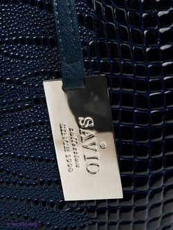 Сумки Savio                                                                                                              синий цвет