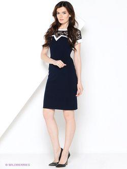 Платья V&V                                                                                                              синий цвет