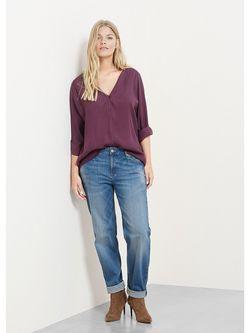 Блузки Violeta by Mango                                                                                                              красный цвет