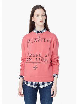 Джемперы Mango                                                                                                              розовый цвет