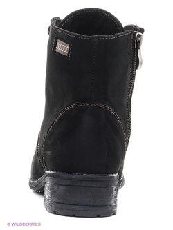 Ботинки Valley                                                                                                              чёрный цвет