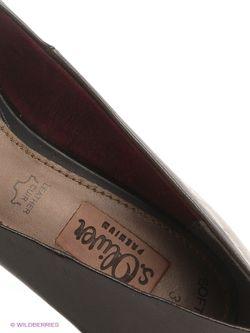 Туфли s.Oliver                                                                                                              чёрный цвет